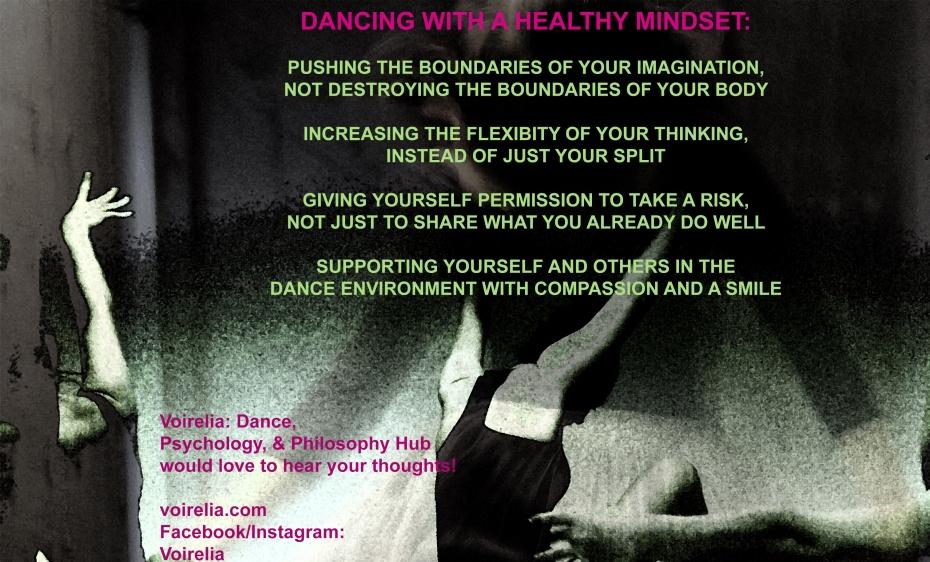 dancing w healthy mindset voirelia